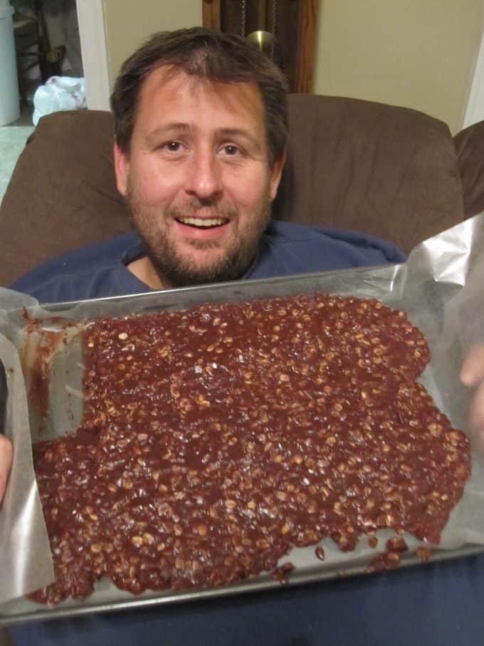 Chocolate Nutella No Bake Cookies Recipe