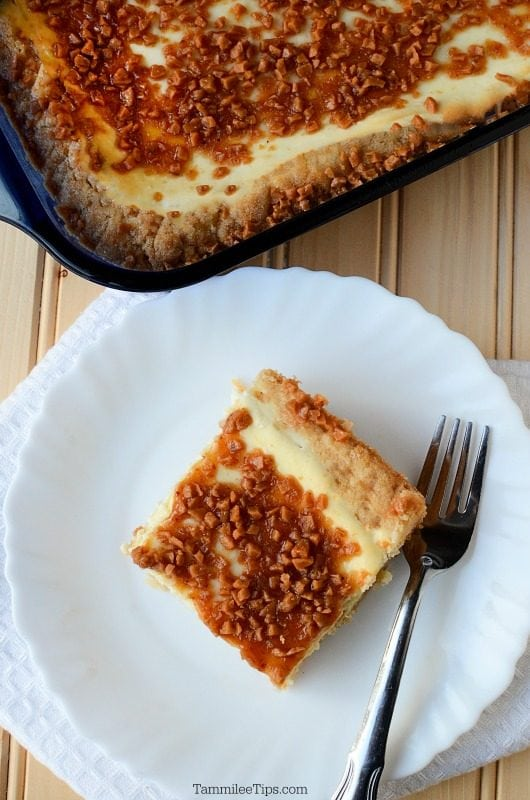 Creme Brulee Cheese Cake Bars Recipe that is hard to resist! Crème brûlée, meet sugar cookie -- in this easy dessert bar recipe, both treats come together in each bite.