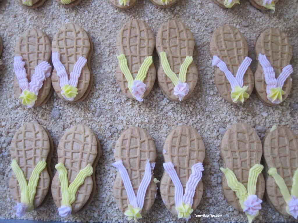 Flip Flop Nutter Butters in Sand