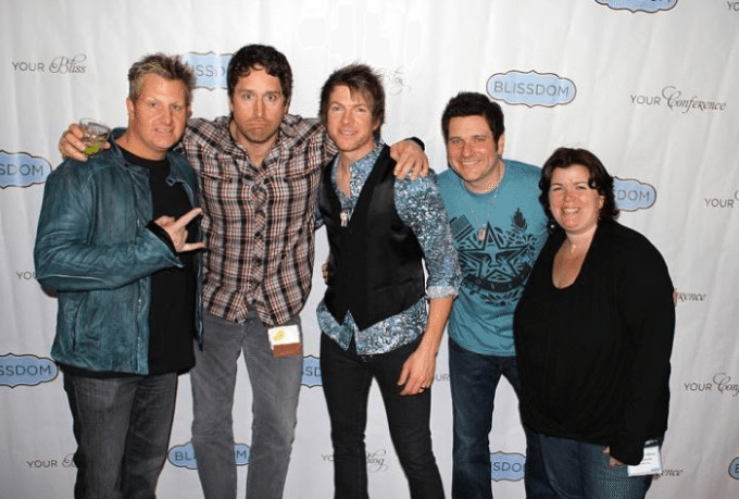 Rascal Flatts Blissdom Photo