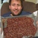 Chocolate Nutella No Bake Cookies