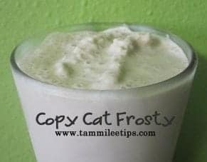 Copy Cat Frosty Recipe!