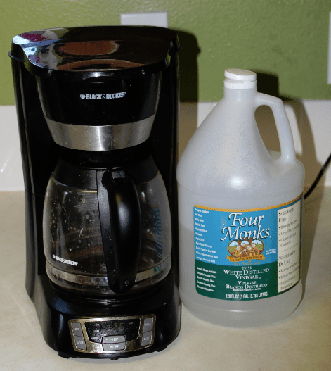 How to Clean your Coffee Maker How Do You Clean A Coffee Pot With Vinegar