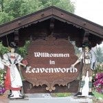 Leavenworth Welcome sign lbd