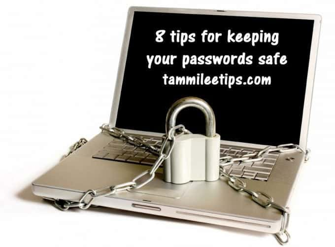 8 tips for keeping your passwords safe