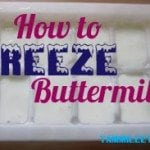 How to Freeze Buttermilk