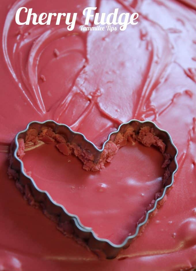 Cherry Fudge Recipe~ Only 2 ingredients!