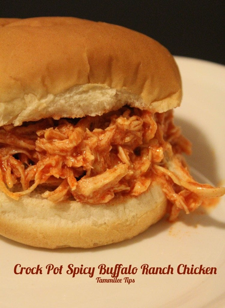 Crockpot Spicy Buffalo Ranch Chicken