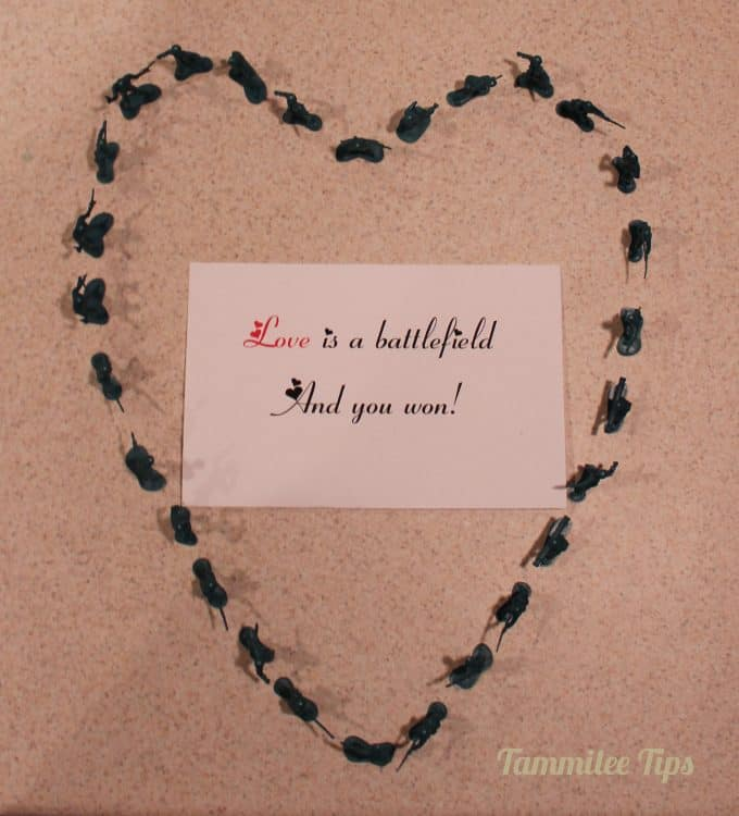 Love Is a Battlefield! Valentine's Day Gift