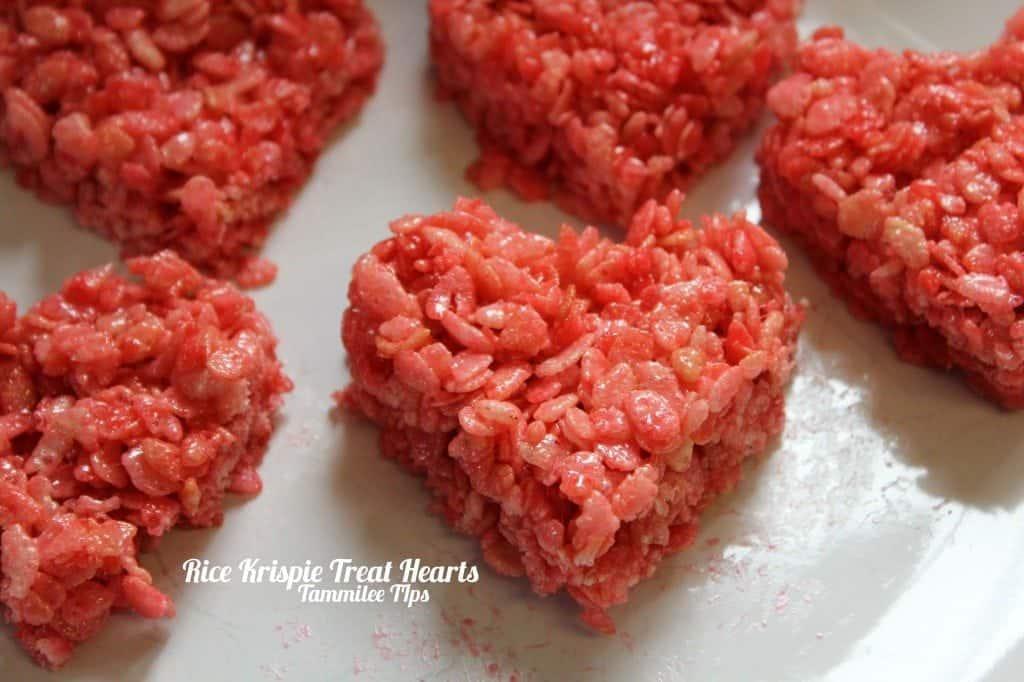Rice Krispie Treat Hearts