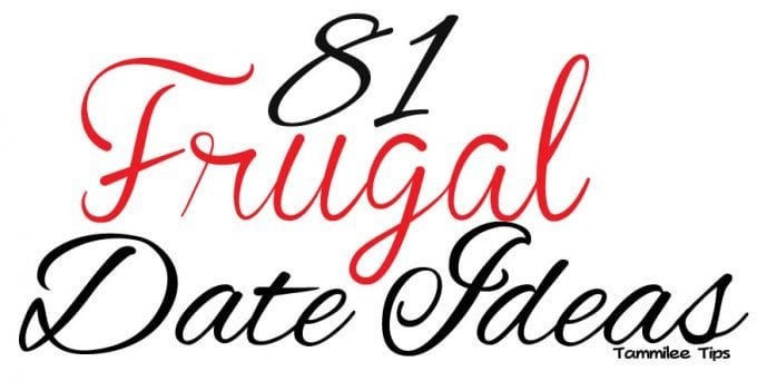 81 Frugal Date Ideas
