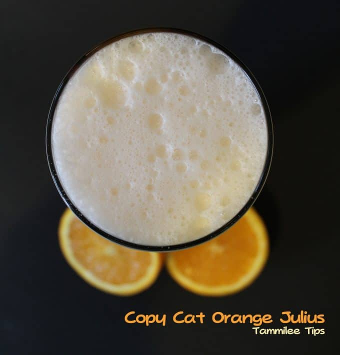 Copy Cat Orange Julius!