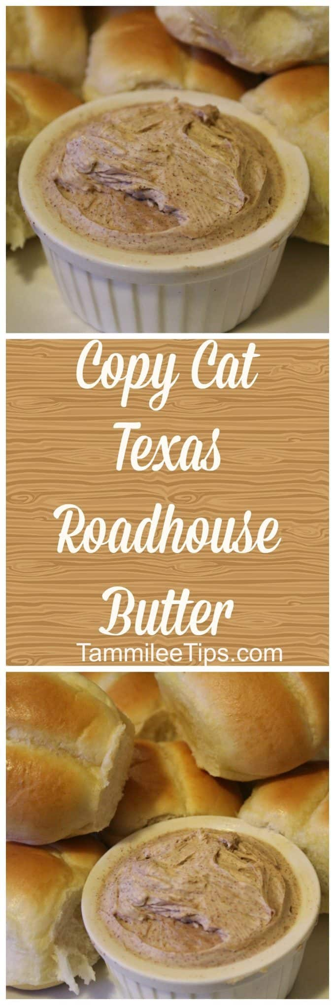How to make copy cat Texas Roadhouse Butter at home! This copycat recipe is so easy to make. Pair with rolls for a simple family meals!
