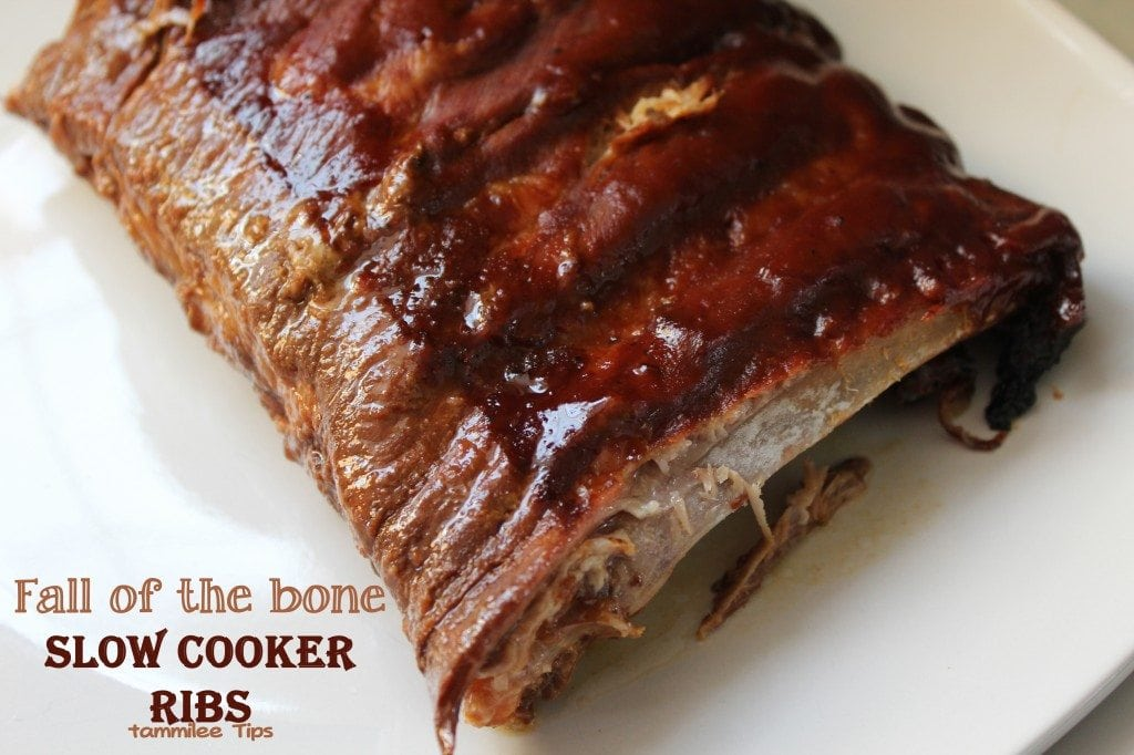 Fall of the Bone Slow Cooker Ribs