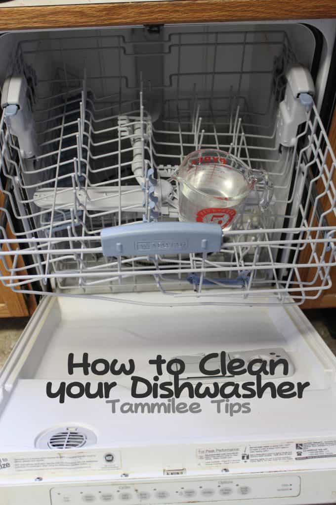 how to clean your dishwasher tammilee tips. Black Bedroom Furniture Sets. Home Design Ideas