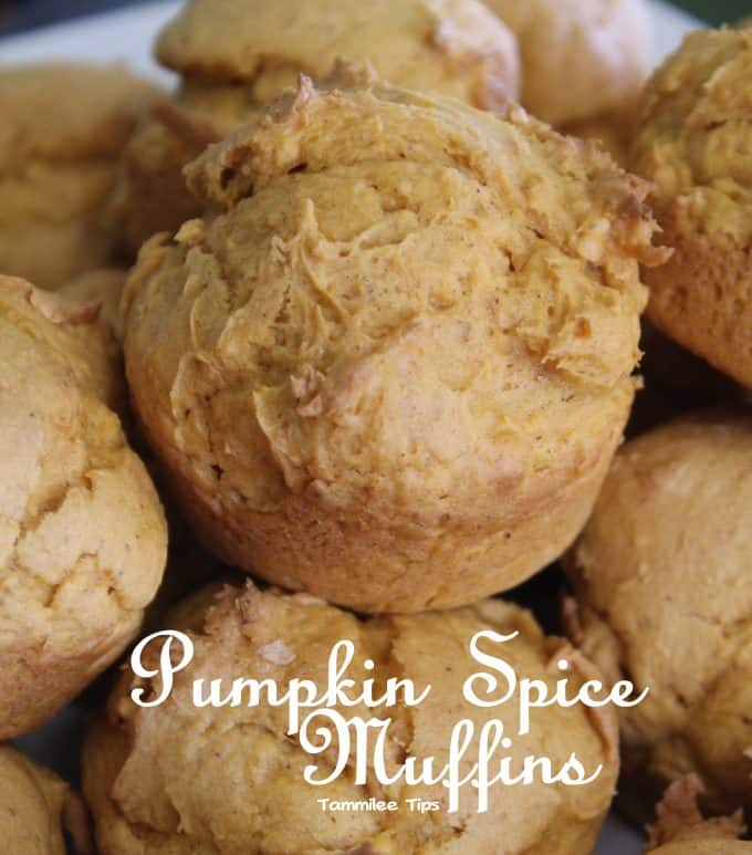 Spice Cake Mix Pumpkin Mini Muffins