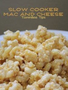 Slow Cooker Mac and Cheese