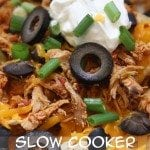 Slow Cooker Nacho Chicken