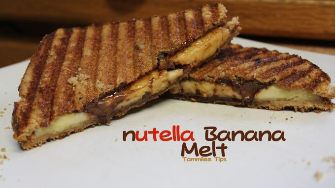nutella Banana Melt
