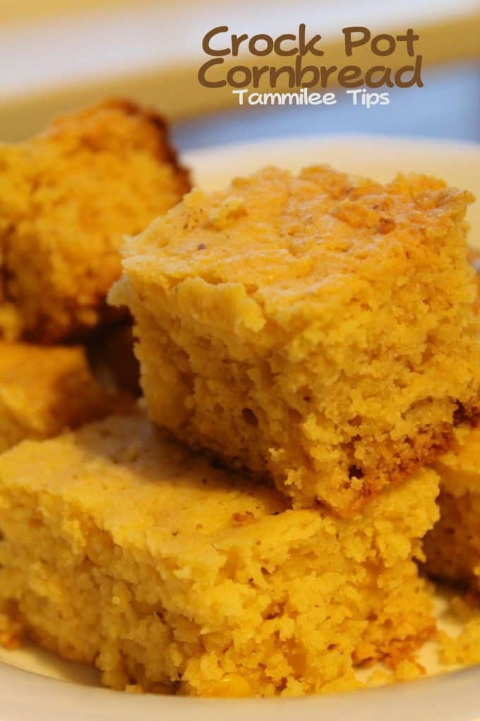 Crock Pot Cornbread - Tammilee Tips