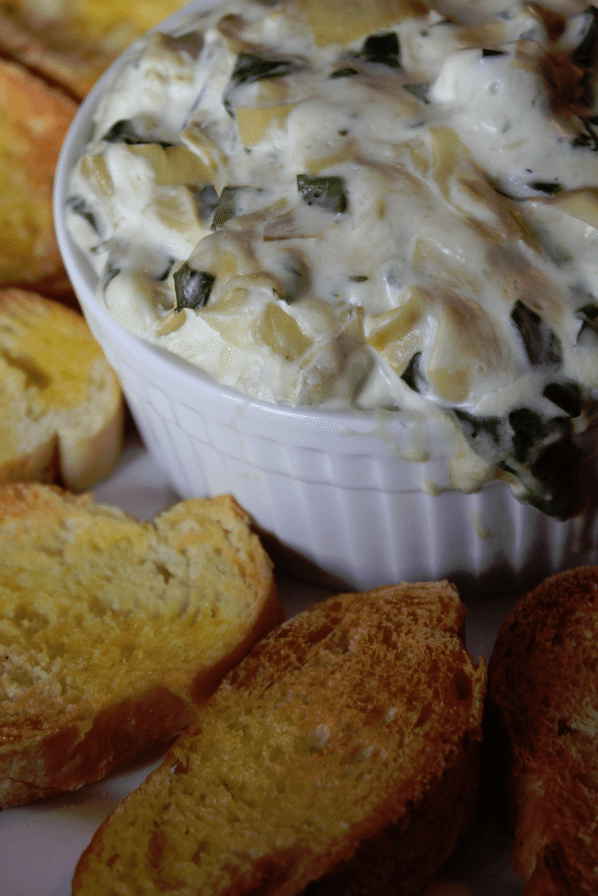 Crock Pot Spinach Artichoke Dip Recipe -Tammilee Tips