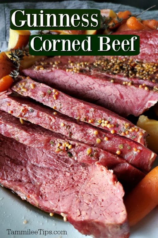 Dutch Oven Guinness Corned Beef Recipe - Tammilee Tips