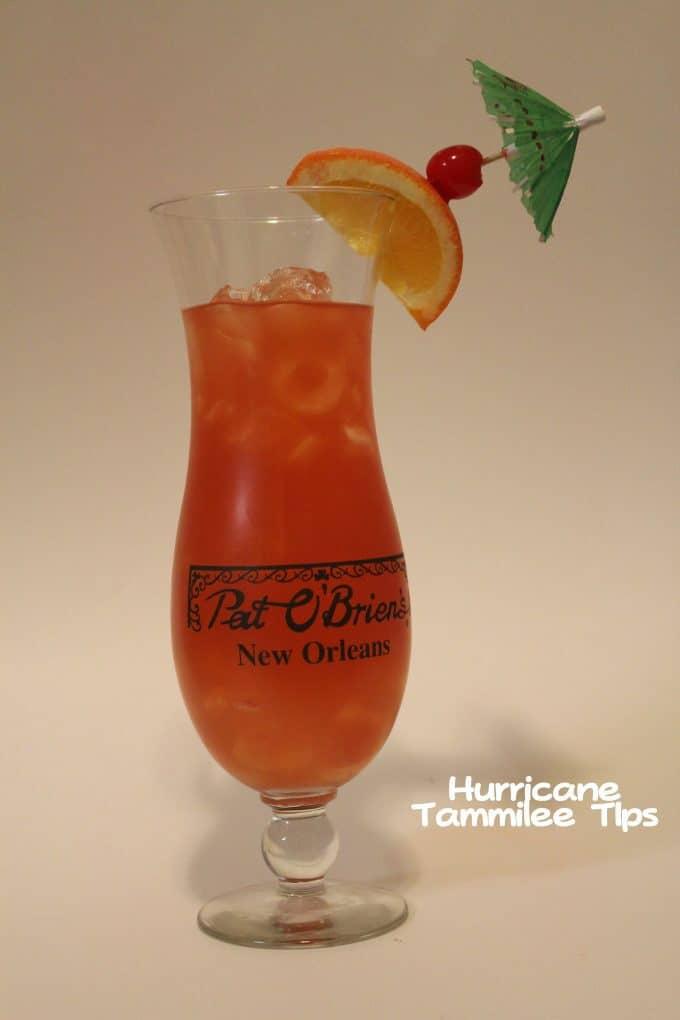 Mardi Gras Celebration! Let's Have a Hurricane Cocktail!