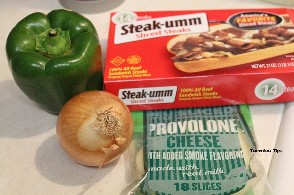 Philly Cheese Steak Stuffed Pepper Ingredients