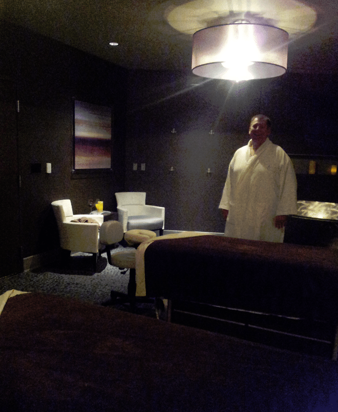 La Rive Spa Room