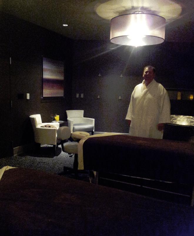 La Rive Spa Room