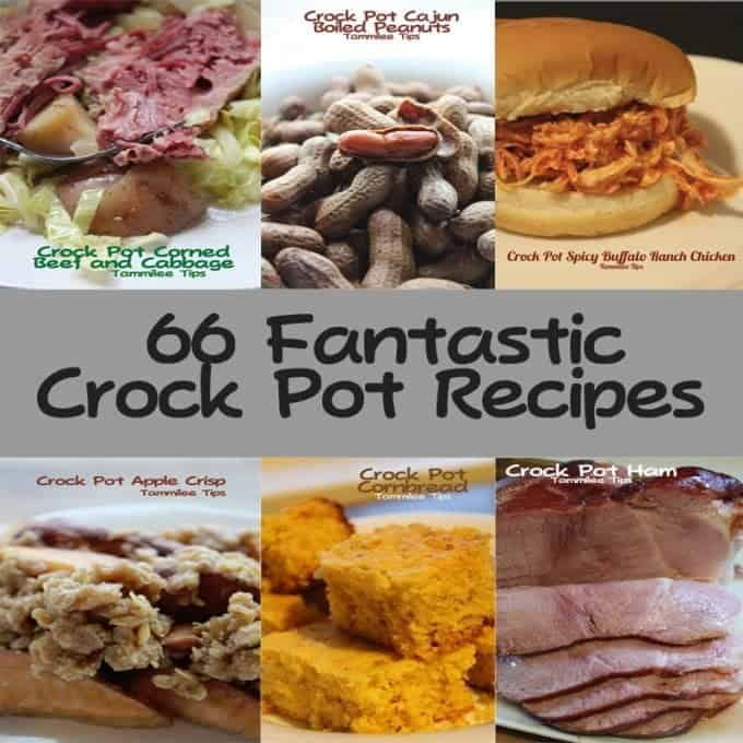 66 Amazing Crock Pot Recipes!