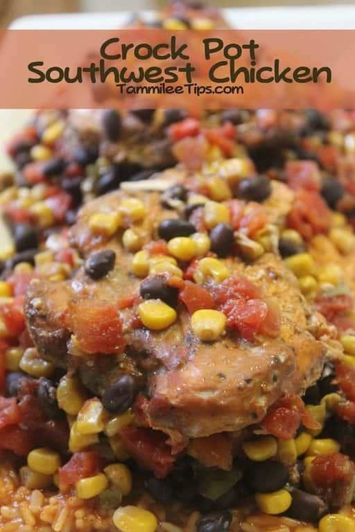Crock Pot Southwest Chicken Dinner Recipe