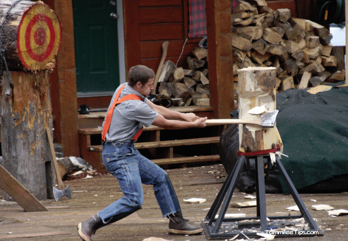 Great Alaskan Lumberjack Show in Ketchikan