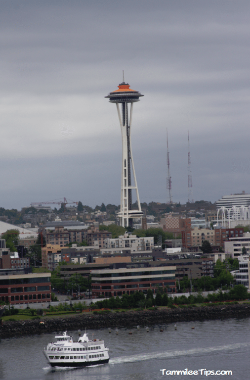 Leaving Seattle On Our Alaska Cruise