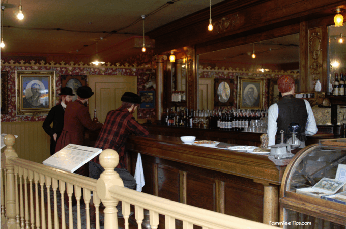 Klondike Gold Rush Visitor Center in Skagway Alaska