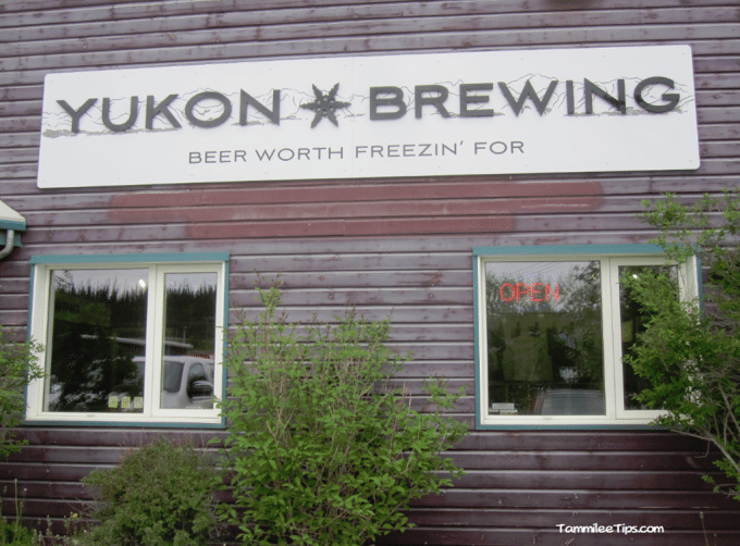 A stop at Yukon Brewing in Whitehorse during our Alaska Cruise