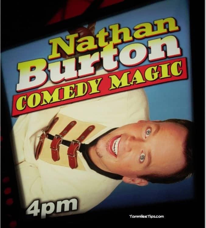 A Magical Afternoon at the Nathan Burton Magic Show