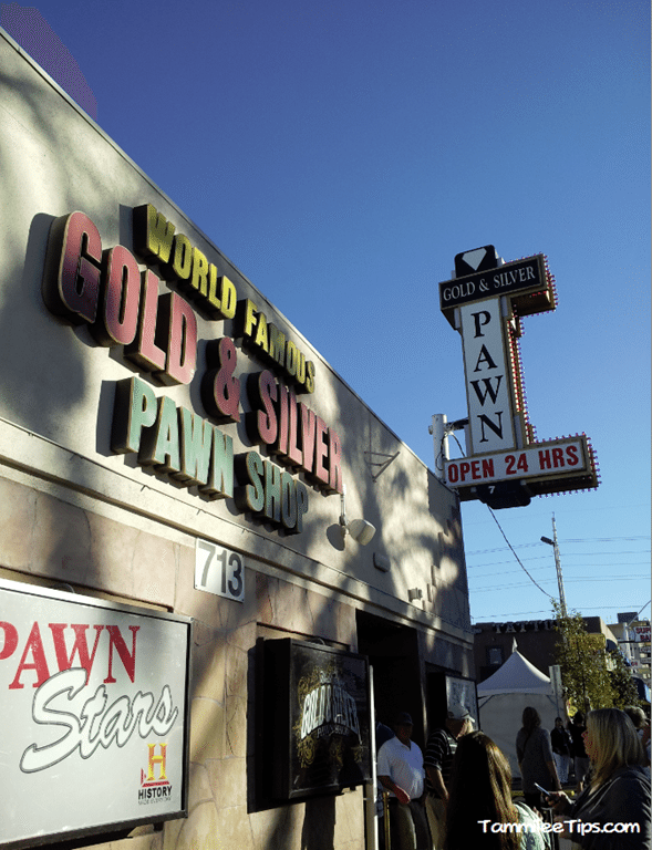 A visit to the Gold and Silver Pawn Shop from Pawn Stars, Las Vegas