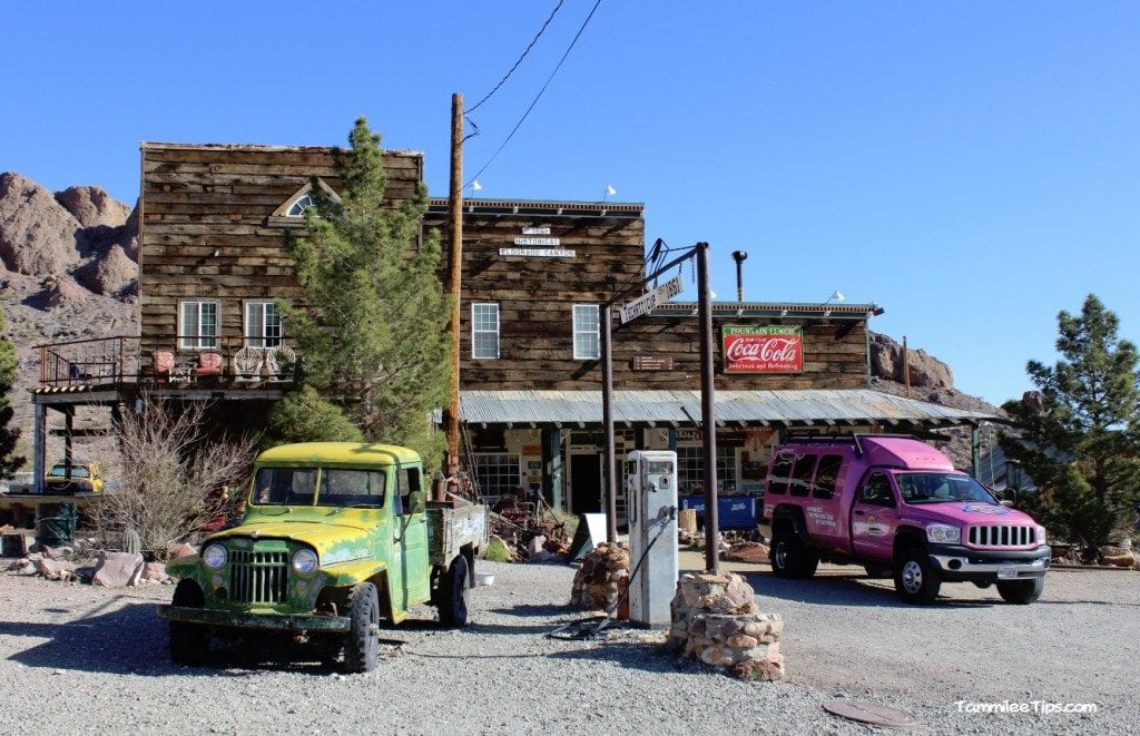 Pink Jeep Tour Eldorado Canyon Mine Tour Store Front