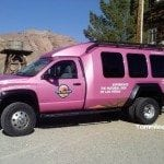 Pink Jeep Tour Truck Eldorado Canyon