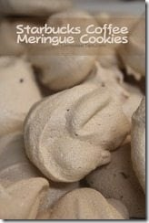 Starbucks Coffee Meringue Cookie Recipe