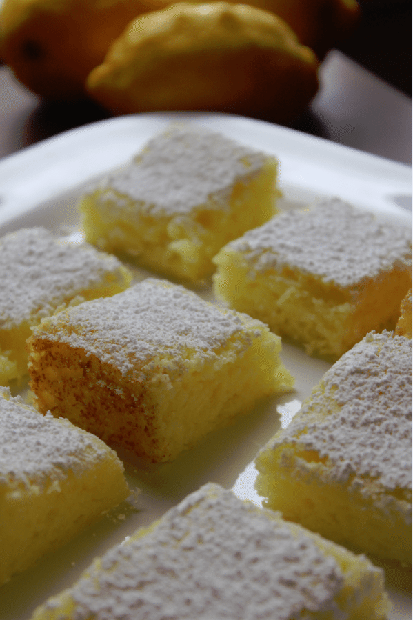 2 ingredient lemon bars recipe