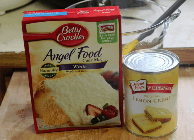 Angel Food Cake Mix And Pie Filling