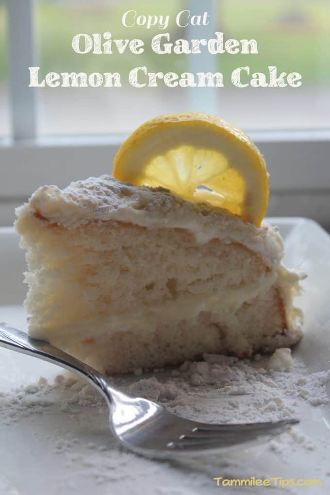 Copy Cat Olive Garden Lemon Cream Cake Recipe: www.tammileetips.com/2013/05/copy-cat-olive-garden-lemon-cream-cake...