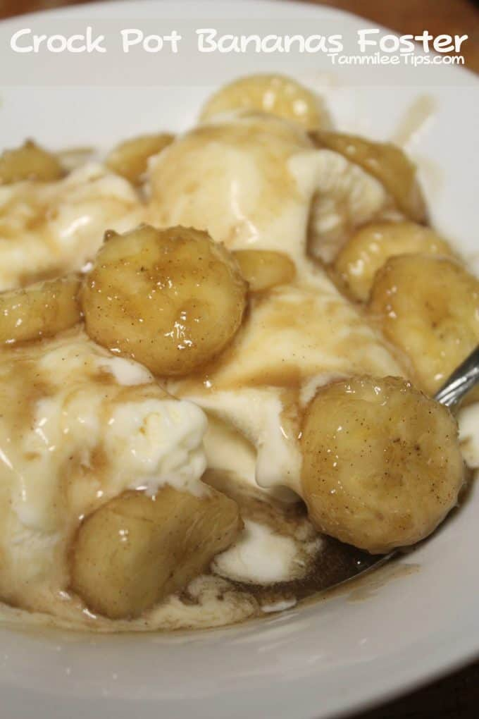 Crock Pot Bananas Foster Recipe