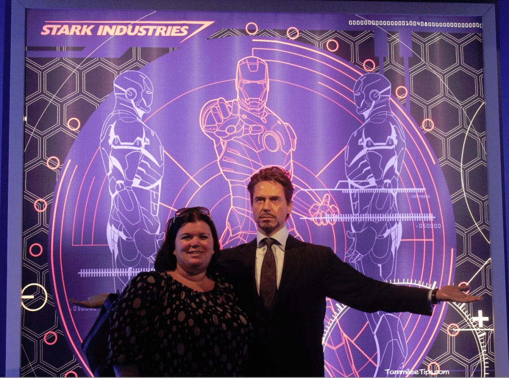 Iron Man Tony Stark at Madame Tussards