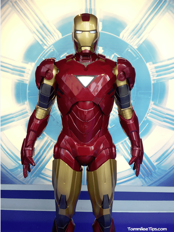 Iron Man at Madame Tussards 2