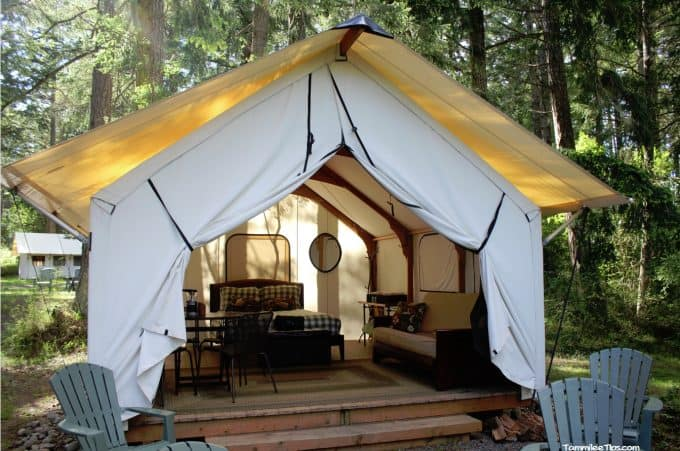Lakedale Resorts Gl&ing Tent 2 & Glamping in the San Juan Islands at the Lakedale Resort