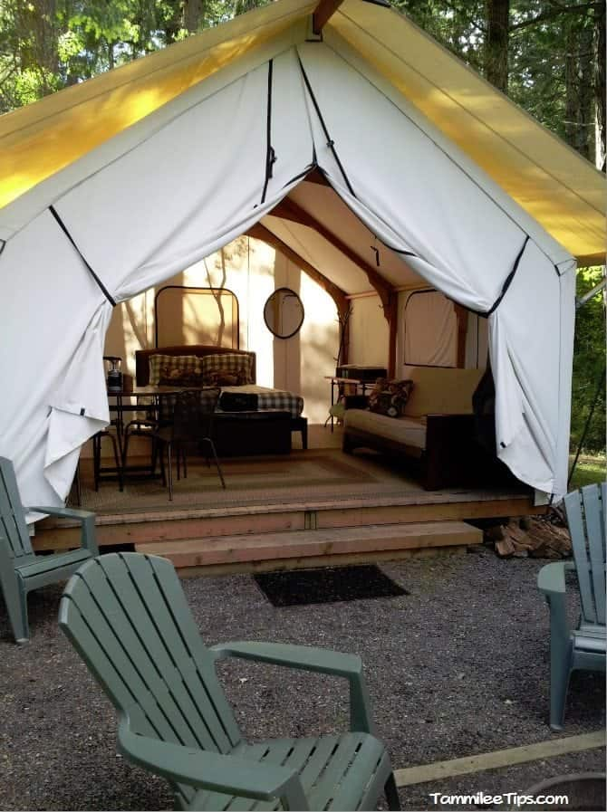 Glamping In The San Juan Islands At The Lakedale Resort