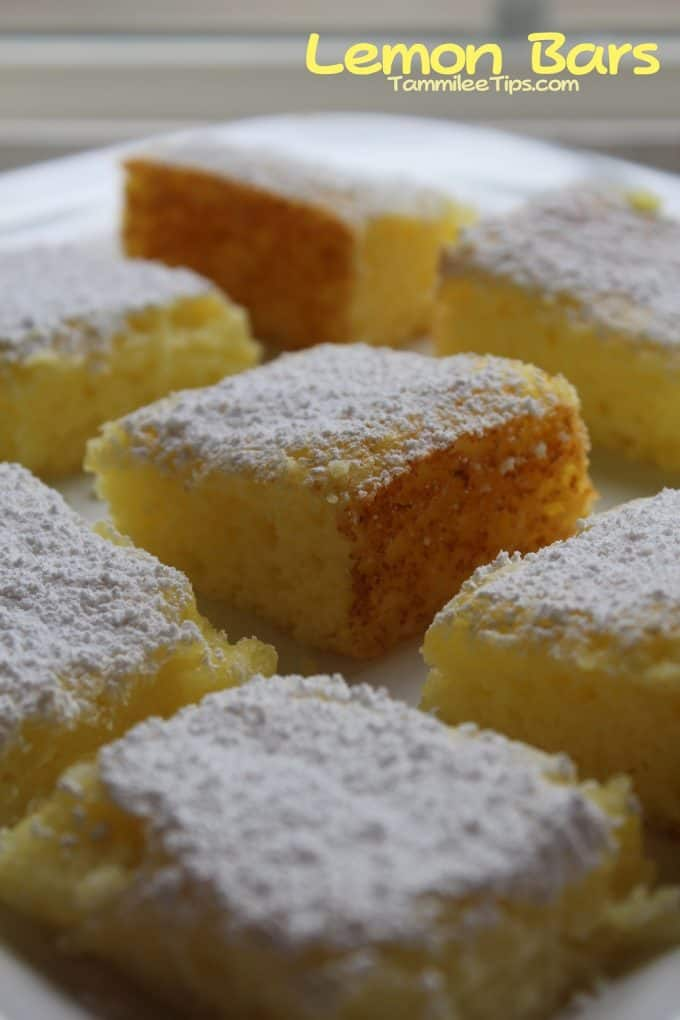 Easy Lemon Bars Recipe Angel Food Cake